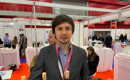 Andrian Davidescu, commercial director of Vinaria din Vale