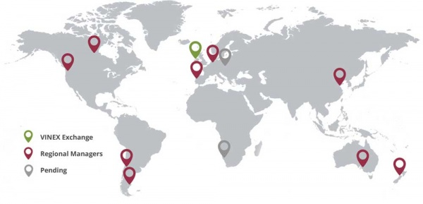 VINEX Regional Map